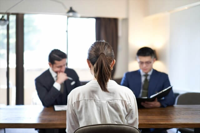 job stress interview 圧迫面接